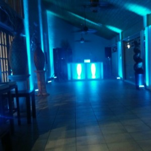 Uplighting, LED Robots - Wedding DJ in Miami, Florida