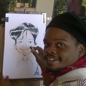 Jer'Animé - Caricaturist in Houston, Texas