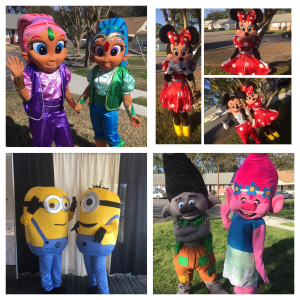 VA Costumes and More - Costumed Character / Princess Party in Norfolk, Virginia