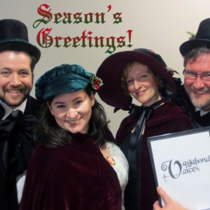 Vagabond Voices - Christmas Carolers / Barbershop Quartet in Toronto, Ontario
