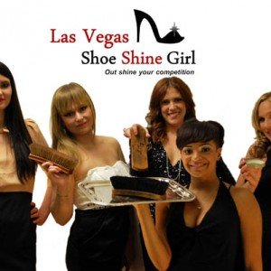 Las Vegas Shoeshine Girl - Corporate Entertainment in Las Vegas, Nevada