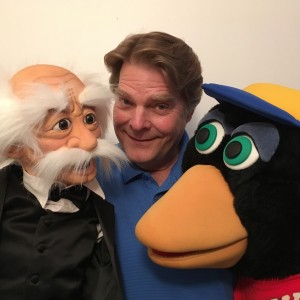 Ventriloquist Steve Chaney