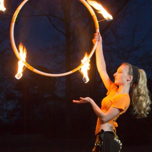 "Venus Fox- ""The Fire Goddess"" - Fire Performer in Alfred, New York"