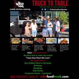 Vibe Mobile Kitchen Catering - Caterer in Lynnfield, Massachusetts