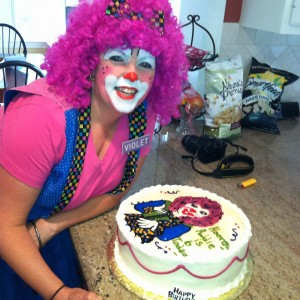 Violet the Clown - Clown in Stoughton, Massachusetts