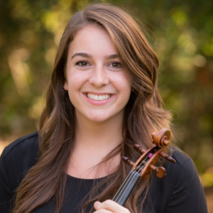 Lalia Mangione - Violinist in Grand Rapids, Michigan