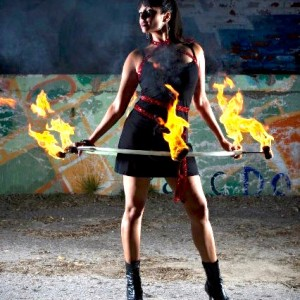 Vita Lita Show - Fire Dancer in Toronto, Ontario