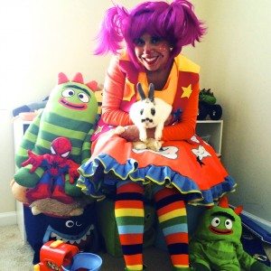 Vivi the Clown - Children's Party Entertainment / Costumed Character in Fayetteville, North Carolina