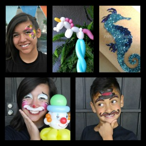 Vivid Face Art - Face Painter / Balloon Twister in Modesto, California