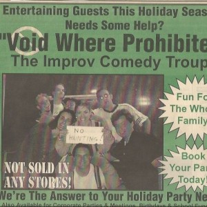 Void Where Prohibited - Comedy Improv Show in Royal Oak, Michigan