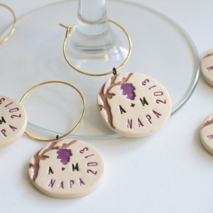 Vumbaca White Wine Charms - Wedding Favors Company in San Francisco, California