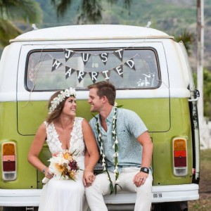 VW Bus Rental - Party Decor in Honolulu, Hawaii