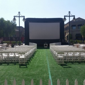 VXP - The Vision Experience - Outdoor Movie Screens / Outdoor Party Entertainment in Ventura, California