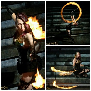 Wandering Rogue - Fire Performer in Portland, Oregon
