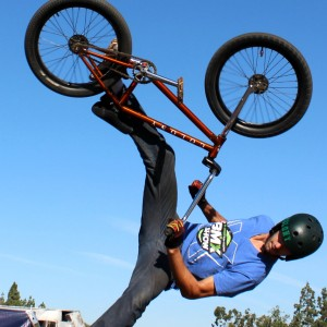 Wheels of Freestyle BMX Stunt Show