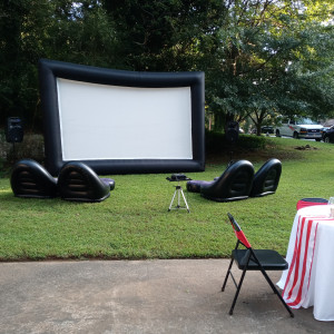 Whimsico Events - Outdoor Movie Screens in Lawrenceville, Georgia