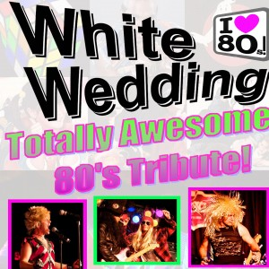 White Wedding Band - 1980s Era Entertainment / Actress in New York City, New York