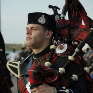 Windsor Bagpiper