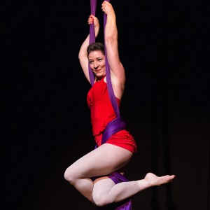Wings of Charm - aerial silk - Aerialist in Montreal, Quebec