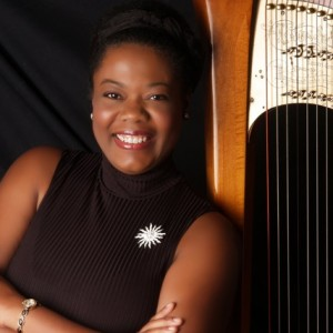 Winifred Garrett - Harpist / Tea Party in Durham, North Carolina