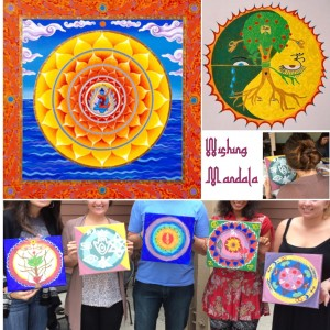 Wishing Mandala - Arts & Crafts Party in Irvine, California