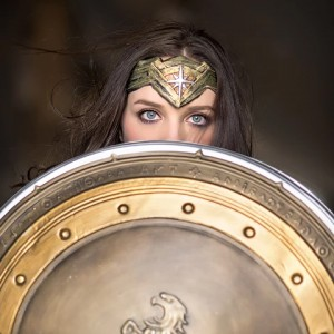 Wonder Woman Impersonator - Superhero Party in South Jordan, Utah