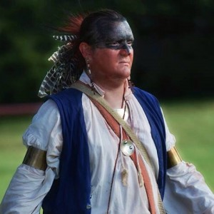 Woodland Warrior Interpretation - Historical Character in Jeannette, Pennsylvania