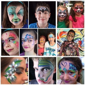 WOW!  Faceart - Face Painter / Halloween Party Entertainment in Warwick, Rhode Island
