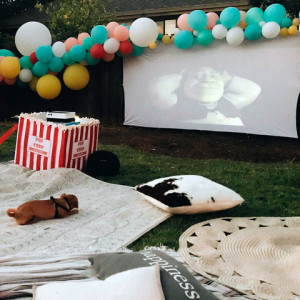 Xtreme AV Movie Night Projector Rentals - Outdoor Movie Screens / Family Entertainment in San Jose, California