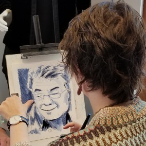 Yancey Event Painting and Portraits - Corporate Entertainment / Caricaturist in Portland, Oregon