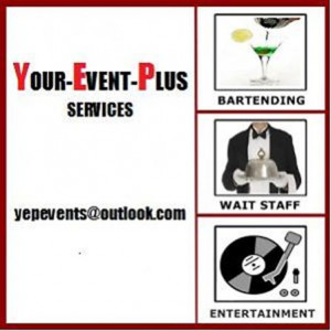 Your Event Plus - Bartender / Party Rentals in Hamilton, Ontario