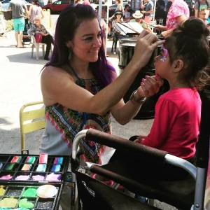 Yoga Munkee Artistree - Face Painter in Santa Monica, California