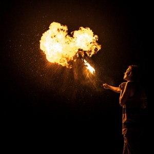 Cynder The Fire Bender - Fire Performer / Outdoor Party Entertainment in Toledo, Ohio