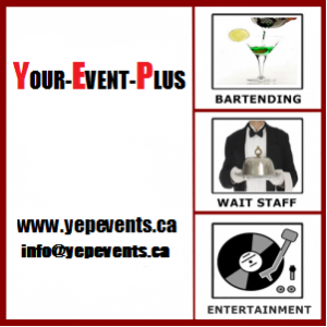 Your-Event-Plus - Wait Staff / Party Rentals in Whitby, Ontario