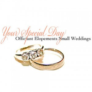 Your Special Day - Wedding Officiant in Chapel Hill, North Carolina