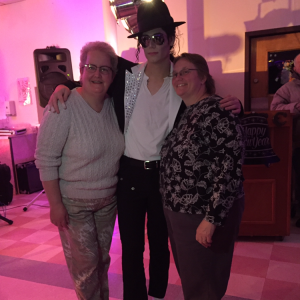 "Zac Richards as the ""King Of Pop"" - Michael Jackson Impersonator in Woonsocket, Rhode Island"