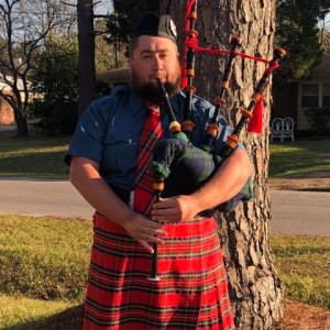 Zach Hope - Bagpiper in Wilmington, North Carolina