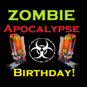 Zombie Apocalypse Birthday Party - Mobile Game Activities / Family Entertainment in Mission Viejo, California