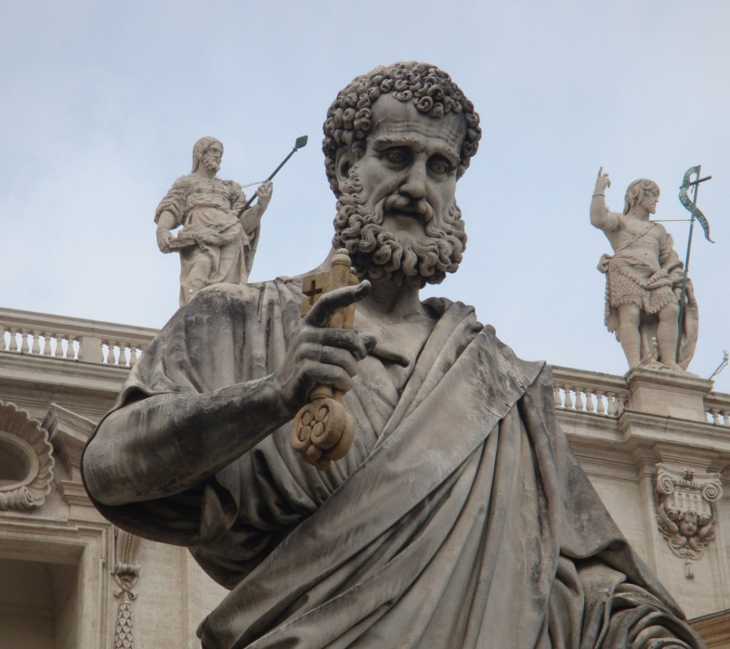Statue of Saint Peter at the Vatican