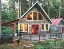 Picture of #99-A charming pet friendly Glacier, WA cabin with hot tub!