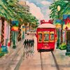 Canal Cable Car by Rose Brenner