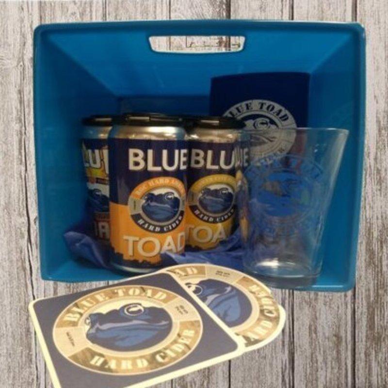 BLUE TOAD HARD CIDER GIFT BASKET