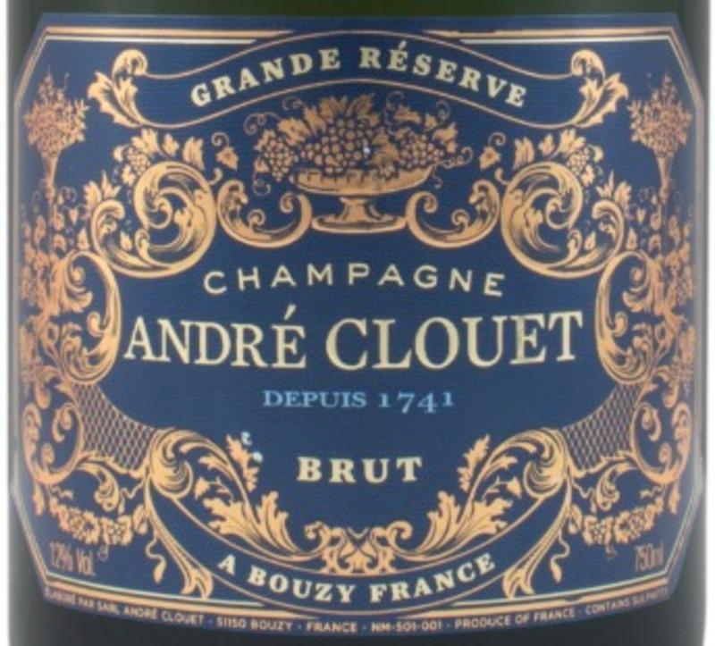 CASE OF ANDRÉ CLOUET GRAND RESERVE BRUT