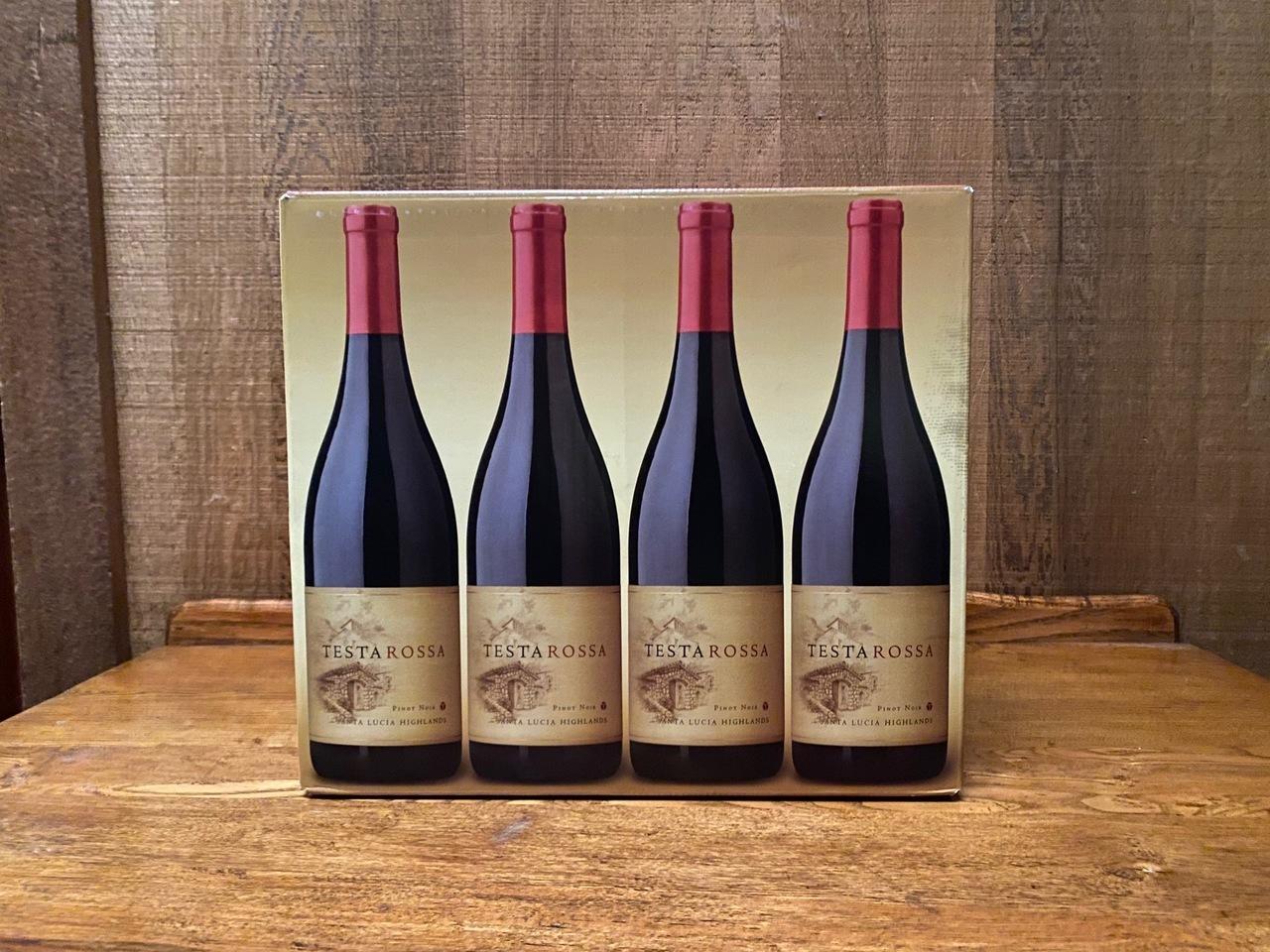 Case (12 bottles) of 2018 Testarossa Pinot Noir