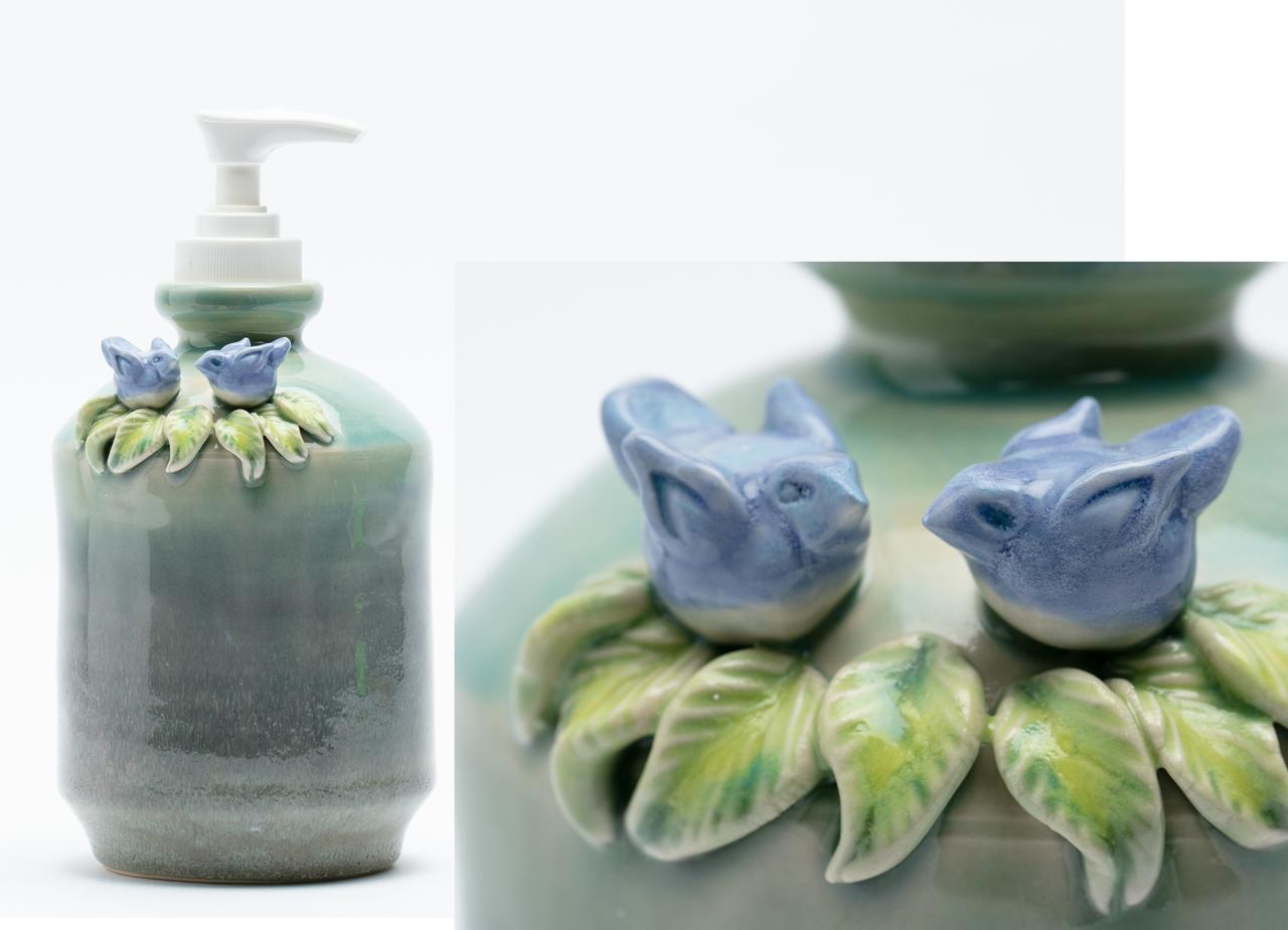 Bluebird Soap Dispenser