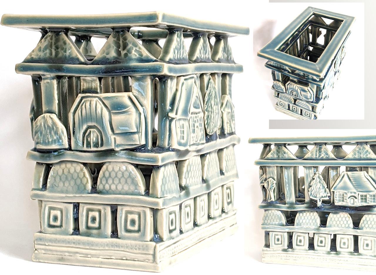Rectangular House Carving