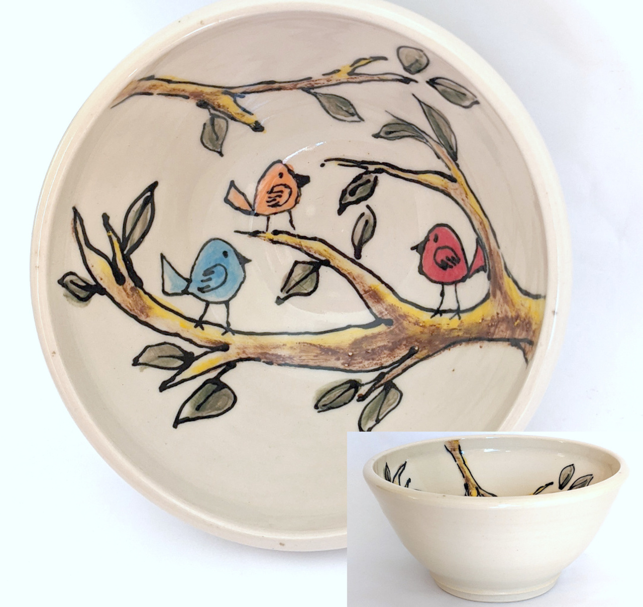 Birds on Branches Bowl
