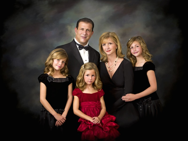 Exclusive Family Portrait plus Luxury 5 Diamond Stay in New York or Palm Beach