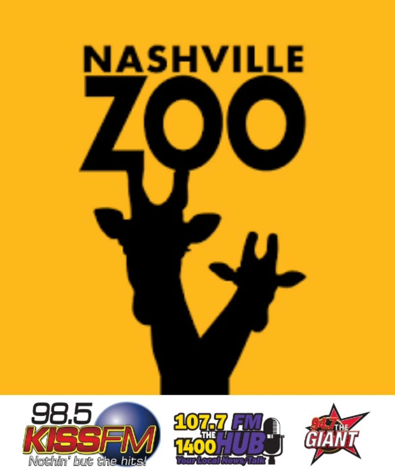 Tickets to Nashville Zoo for Four