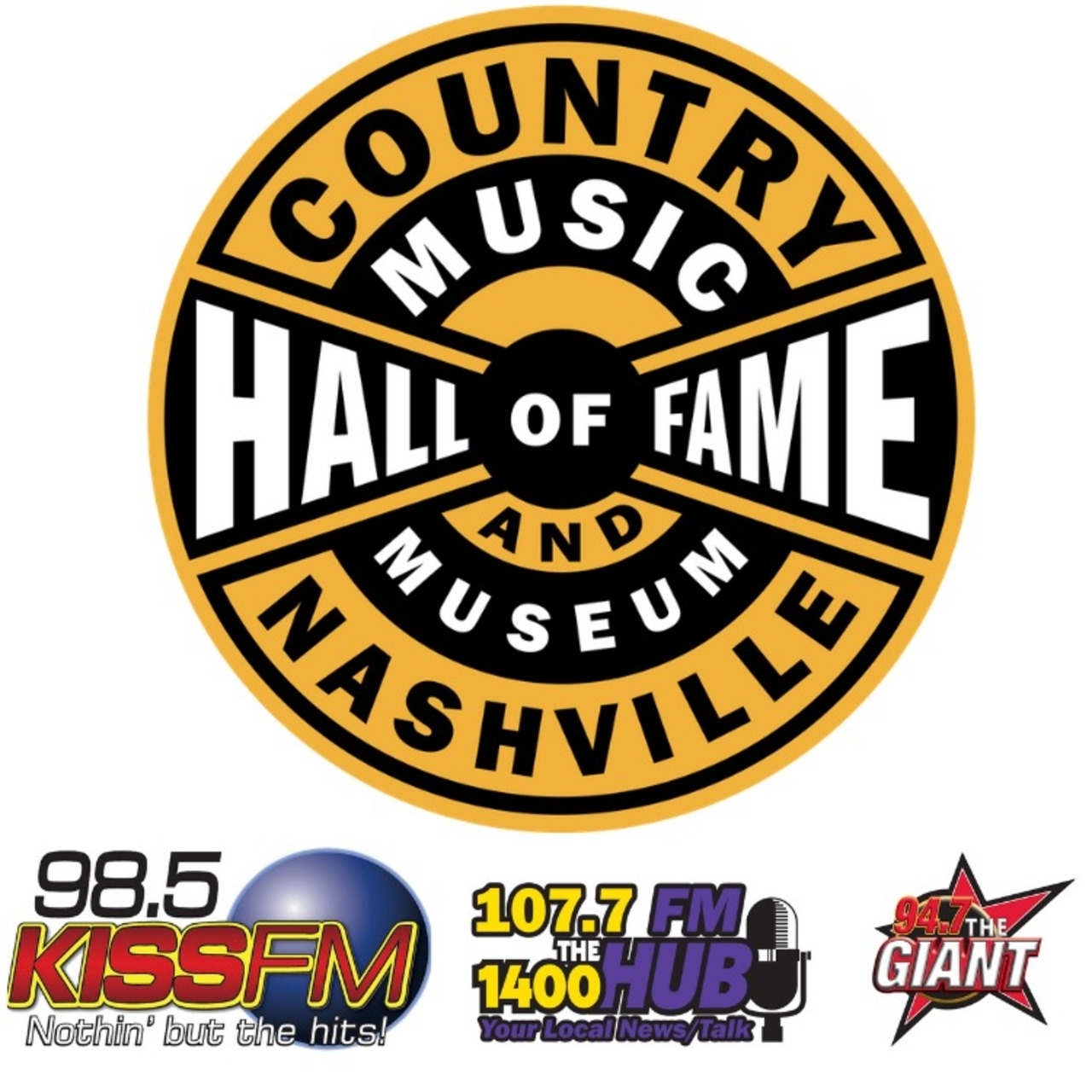 Country Music Hall of Fame Tickets for Two